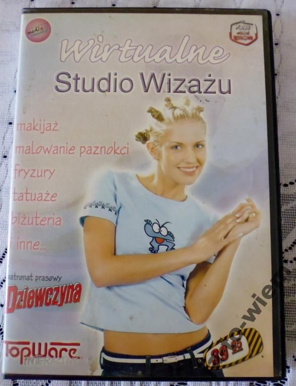Wirtualne Studio Wizażu - Poradnik makijażu PC