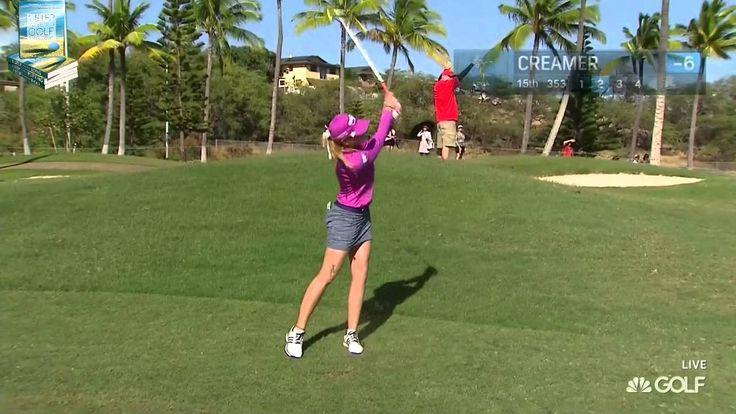 Paula Creamer's Pure Golf Shots at 2015 Lotte LPGA. Happy Birthday Paula Creamer!