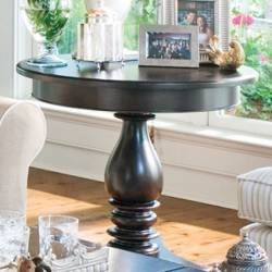 styling for the round end table.
