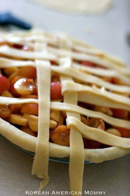 Rainier Cherry Recipe | Rainier Cherry Apple Pie