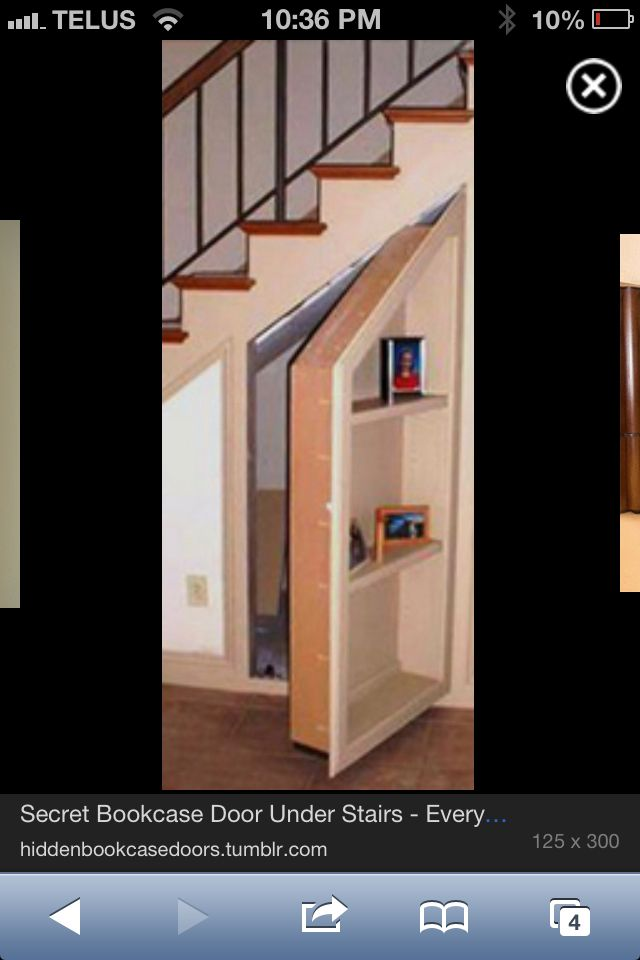 Under The Stairs Storage Door Stairs Bookcase Door