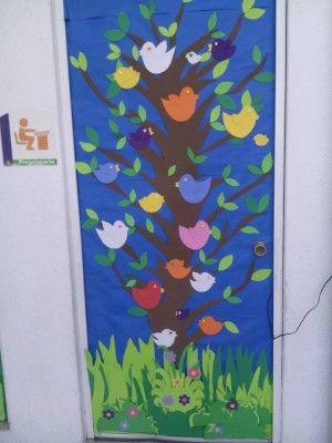 Las 25 mejores ideas sobre decoraciones de puertas de for Puertas escolares decoradas