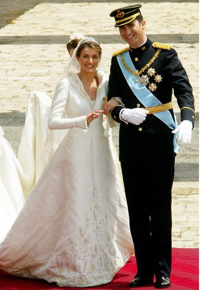 Letizia Ortiz Rocasolano and Felipe, Prince of Asturias, 2004-estilotendances