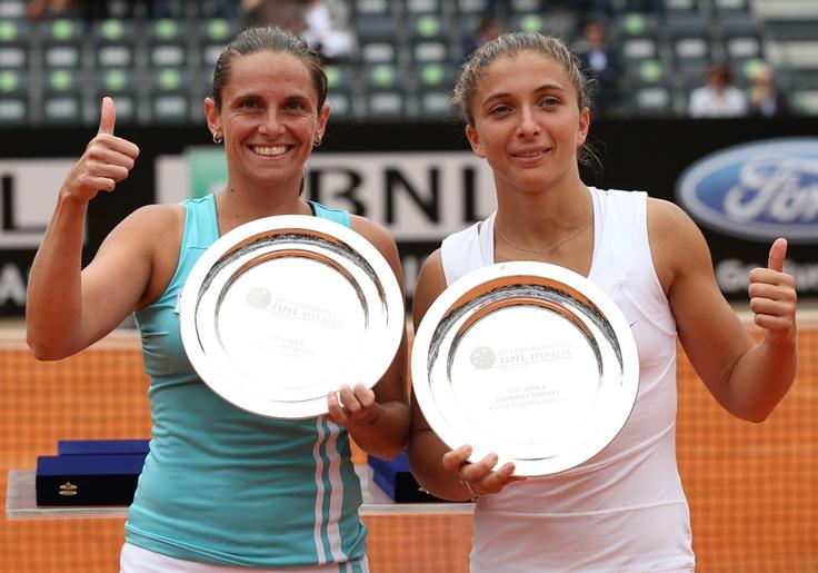 Errani e Vinci si aggiudicano gli Internazionali di Tennis 2012! Sono la coppia più forte al mondo!