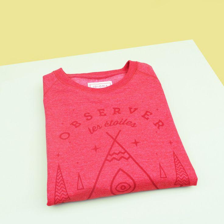 Stargazer Sweatshirt (Magma Rouge)