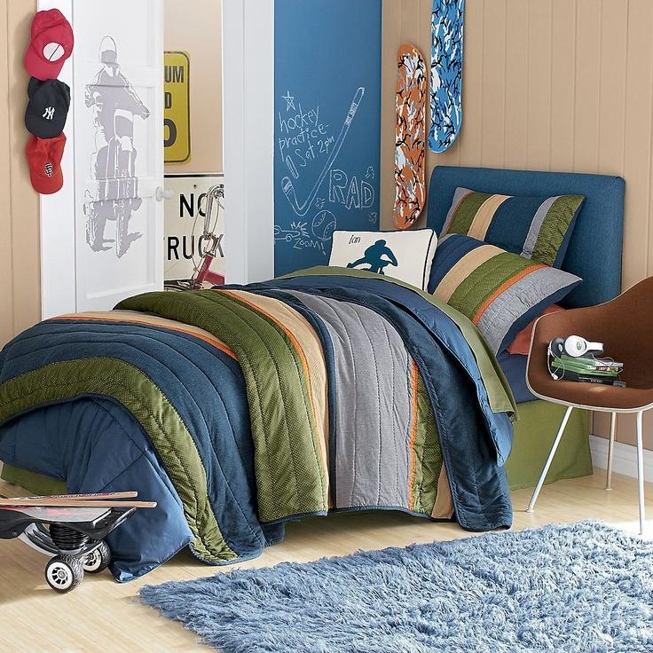 31 Best Teen Bedrooms Images On Pinterest: 310 Best Images About Boys & Teens Bedrooms, Bedding