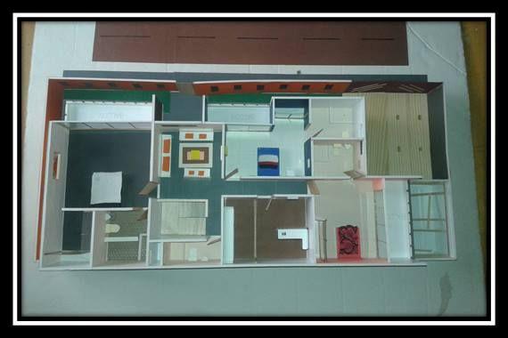 vista en planta del segundo nivel (unifamiliar)