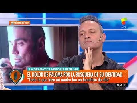 """Paloma Fort: """"Felipe Fort muere al enterarse de que no soy su hija, sino..."""