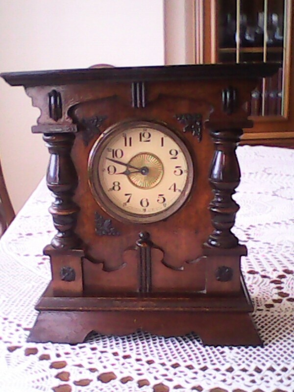 Reloj antiguo antiguedades pinterest - Relojes pared antiguos ...