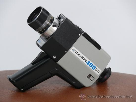 Chinon 400 Super 8 Video Camera.  Super 8  Pinterest ...