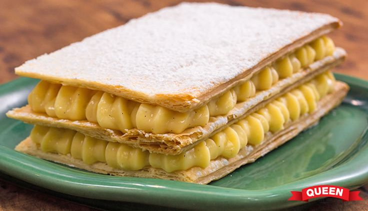 Easy vanilla slice - Queen Fine Foods