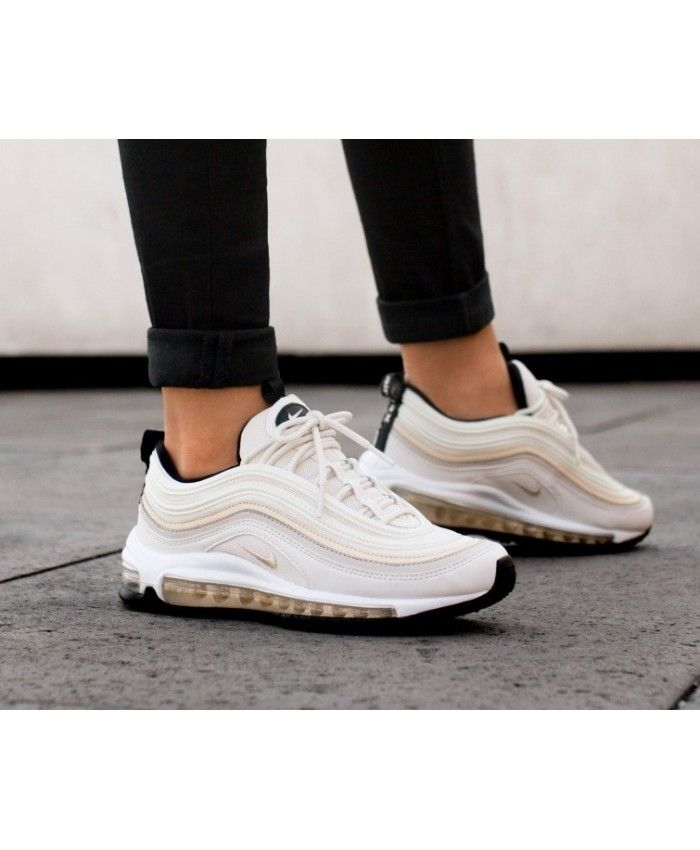 save off de2dc 65340 Nike Air Max 97 Womens Phantom Beach Desert Sand Black