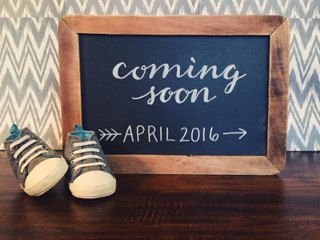 Hey, I found this really awesome Etsy listing at https://www.etsy.com/listing/250960720/chalkboard-pregnancy-announcement