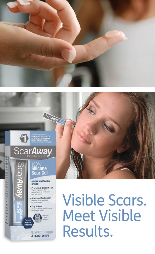 how to make scars less visible