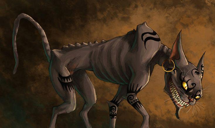 The Cheshire Cat by fiszike.deviantart.com on @deviantART