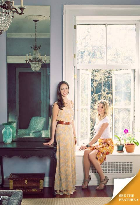 tory burch spotlight on barbara bush and jenna bush hager