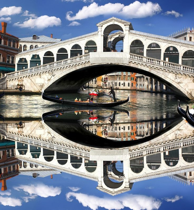 Rialto Bridge, Venice - our favorite place in Italy was Venice (although I did love the leather market in Florence!)