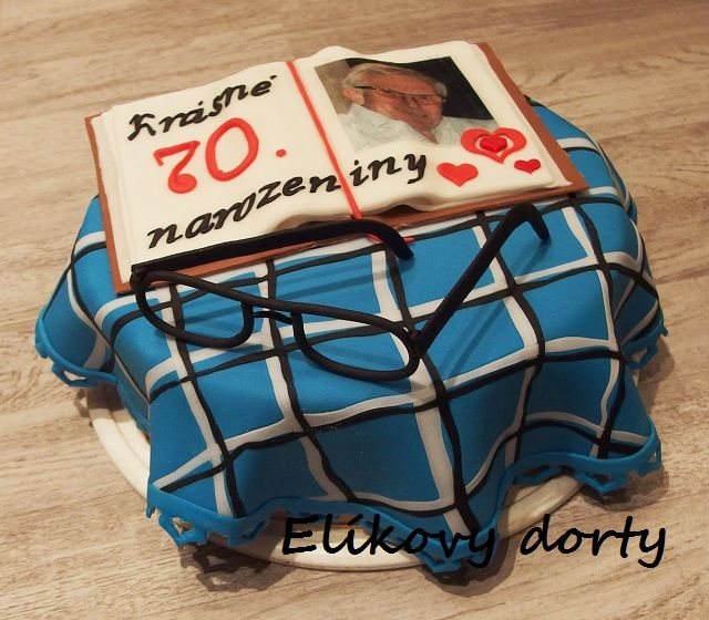 cake with table-cloth