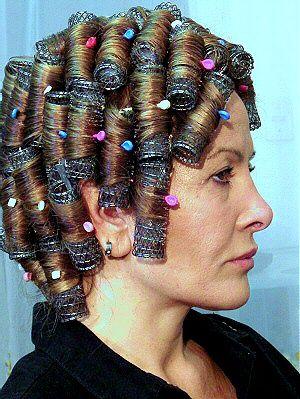 Pingl Par Marc Fritsch Sur Roller Set Hair Curled