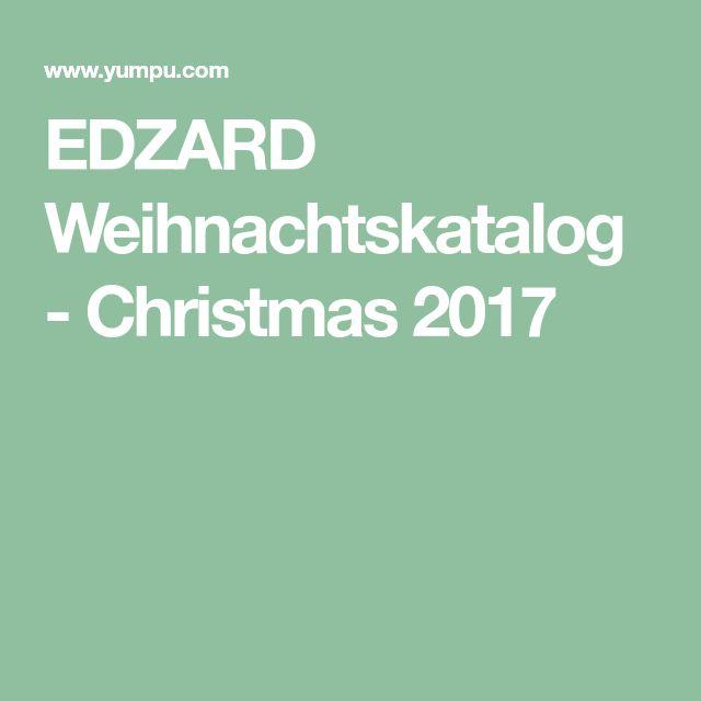 EDZARD Weihnachtskatalog - Christmas 2017