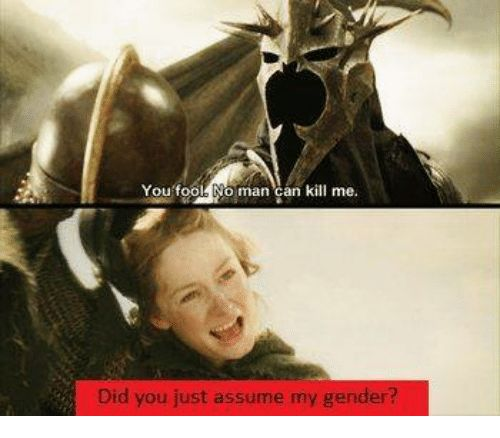 Image result for did you assume my gender