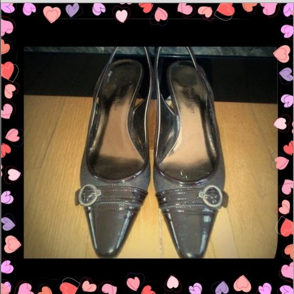 "💯Aut RARE Etienne Aigner Slingback Pumps 8.5 Authentic Etienne Aigner Slingback Pumps 100% Guaranteed Authentic 8.5  EA throughout fabric RARE , 3"" Heel. Super nice, classy & great for career! Total fan of this designer! Have been sitting in storage for a while but they are in EUC/ estate fresh : see profile, may not be 100% mint as has been sitting, pics are part of description, as is, ask questions. Estate fresh/profile Etienne Aigner Shoes Flats & Loafers"