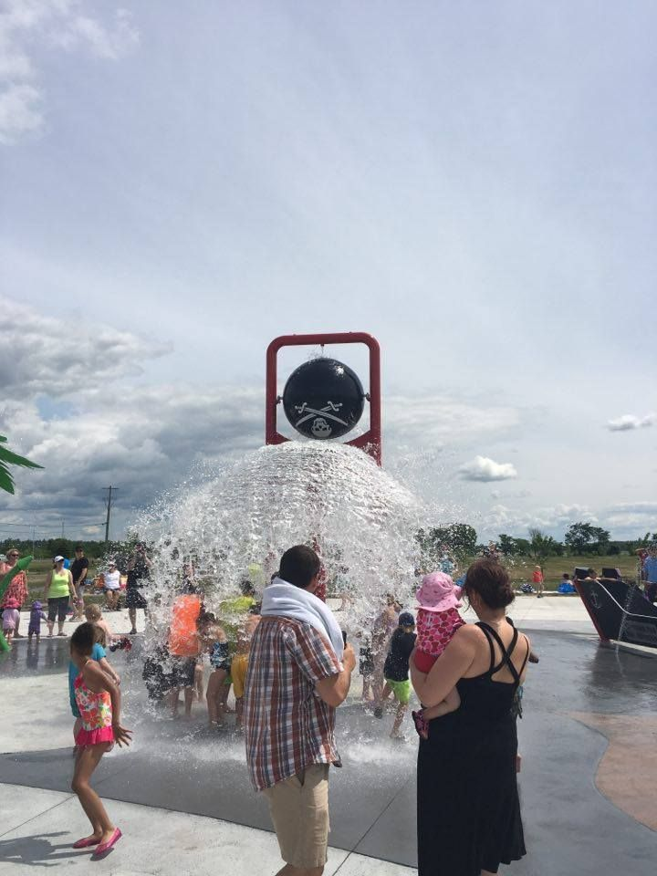 The New Millennium Park | Splash Pads | Ottawa Parks | Keeping Cool in the Summer| Kids in the Capital