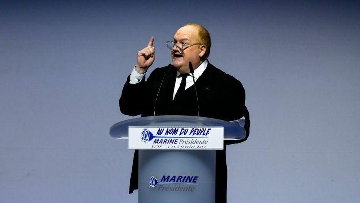 Franck de Lapersonne se voit refuser un CDD par Marine Le Pen