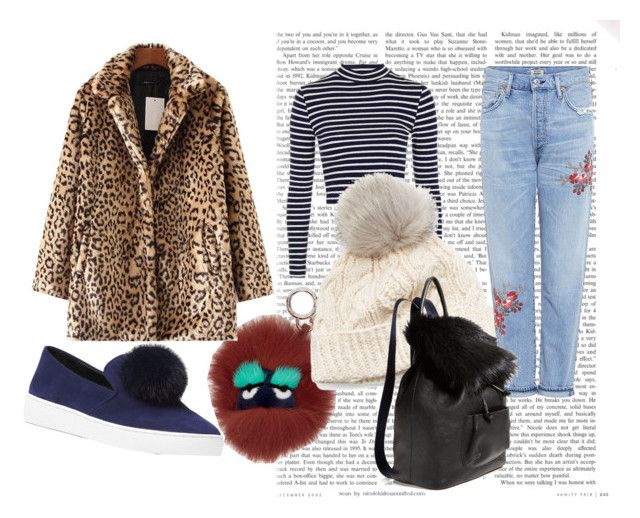 Casual Fur by messypineapple93 on Polyvore featuring Topshop, Citizens of Humanity, Michael Kors, Elizabeth and James, SIJJL and Fendi