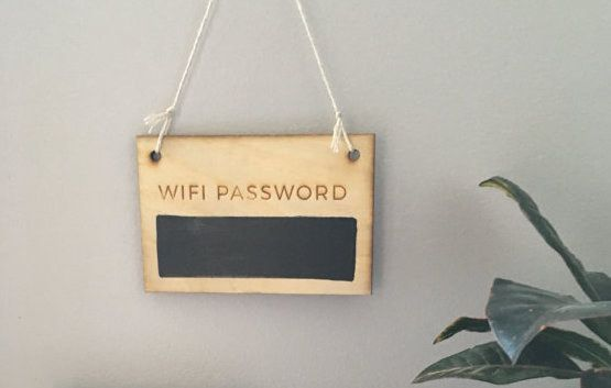 A rustic-chic alternative to constantly turning the router upside-down. | 24 Perfect Gifts For Your Roommate