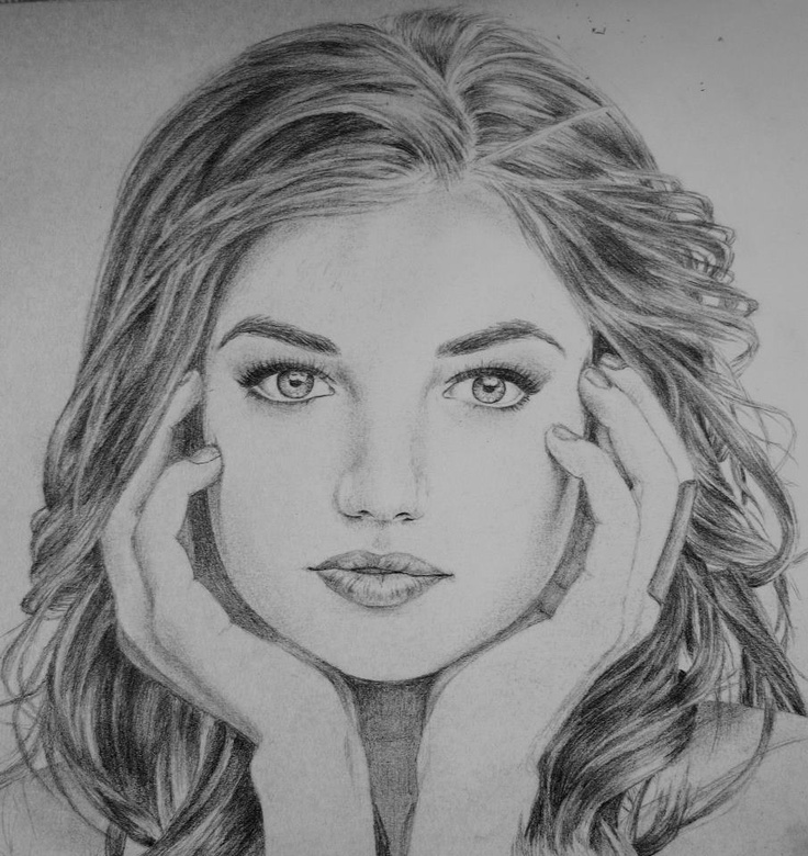 how to draw aria montgomery