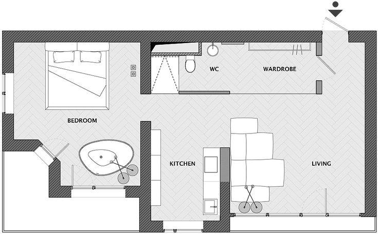 Men's flat