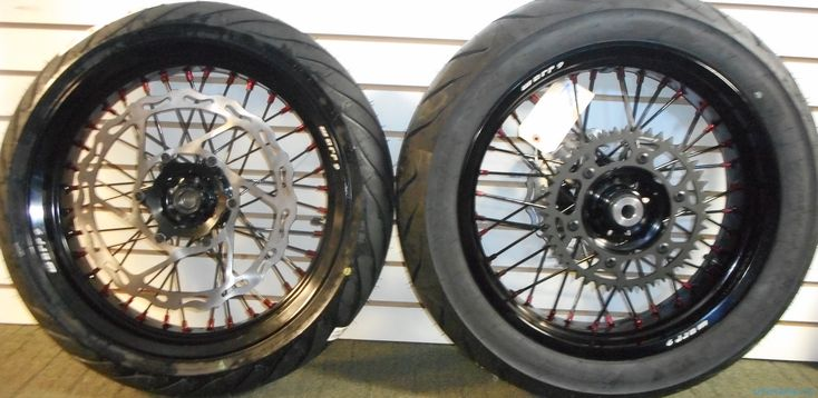 Moto X Industries offer the best deal Supermoto, Motard and Motocross Wheels for your bike. All these wheels are built with the best quality parts available. Buy front and rear wheel set at discount price. Visit https://motoxindustries.com/product/supermoto-wheel-set/ for more information.