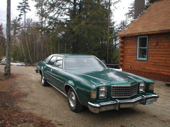 1977 Ford Ltd Ii Green On Green On Green Ma S I Drove It For Awhile Michelle And I Took It To Abilene To Help