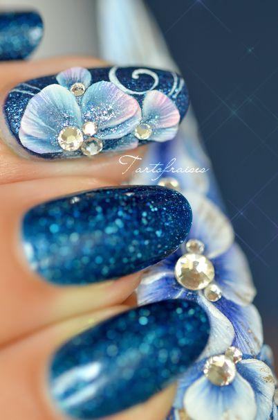 nail art 3D plate flat