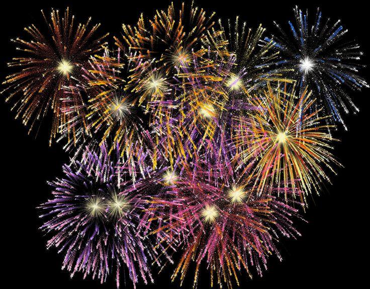 feu d'artifice à metz fête nationale