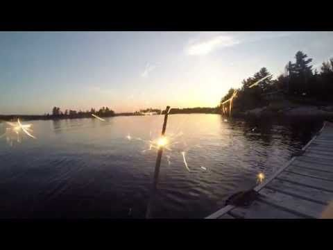 A weekend of activities in French River, Ontario, Canada.   We swam, fished, sun bathed, biked, hiked, and celebrated Canada Day.  Also, my first video made with my Go Pro Hero 3+ Black edition. Edited on my ipad using imovie.