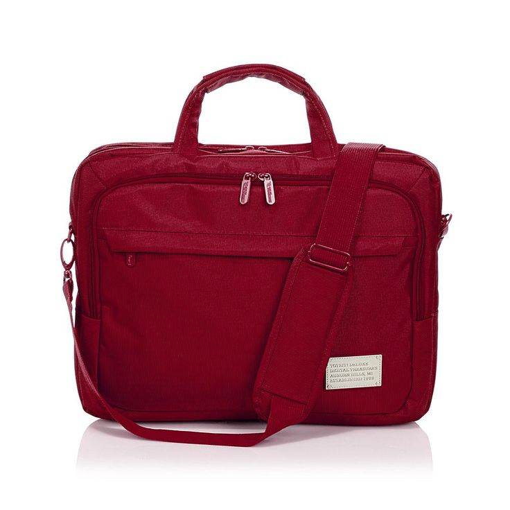 "ToteIt! Deluxe 15"" Laptop Case - Red"