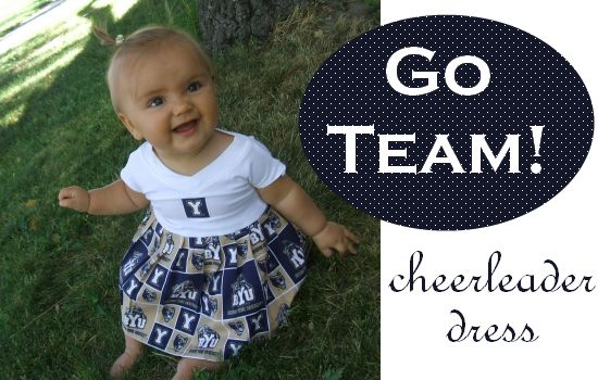 Now I need Dallas Cowboys material to make this for my niece!