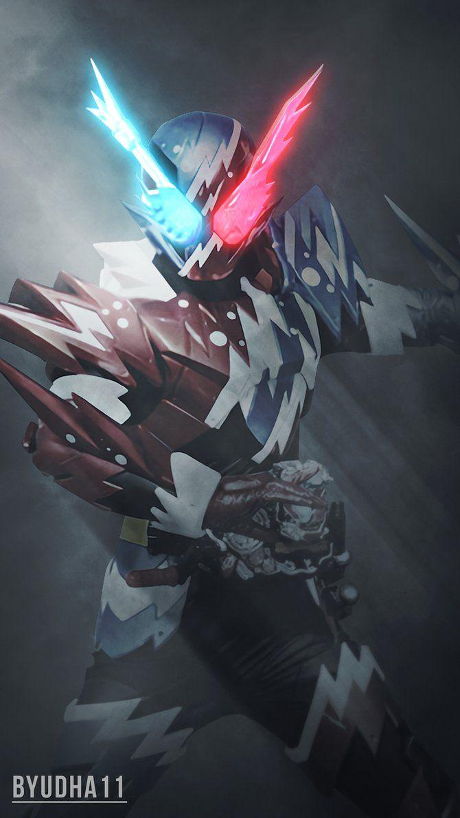 Kamen Rider Build Rabbit Tank Sparkling Wallpaper by Byudha11