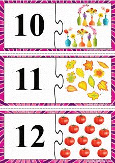 Child Development: Puzzle számok 1-15