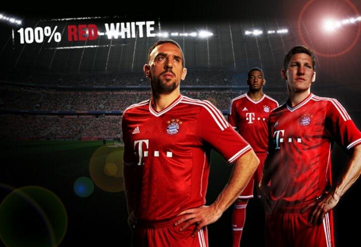Bayern Muenchen New Jersey