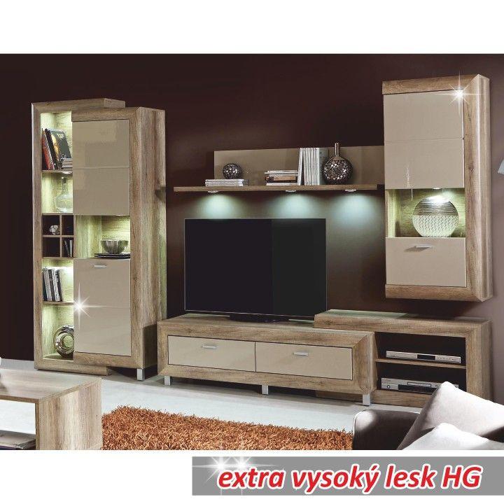 Obývací program GATIK | Nábytek ATAN | Obývací pokoje