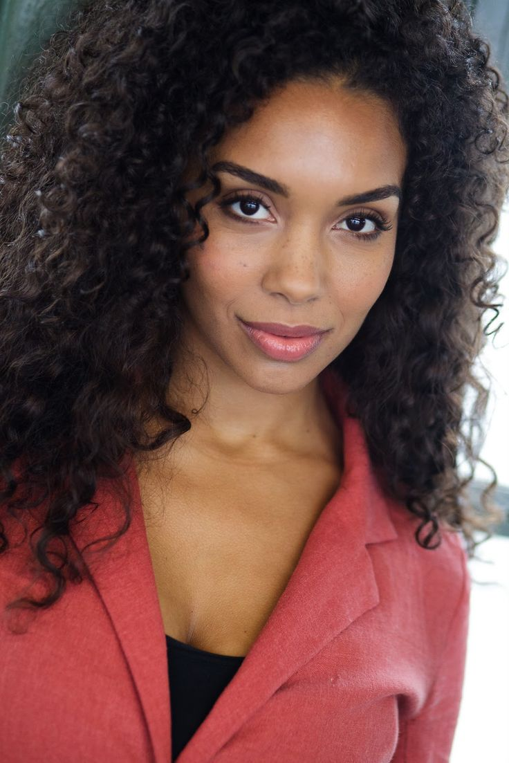 Celestine Rae Young Black Actresses Headshots Curly