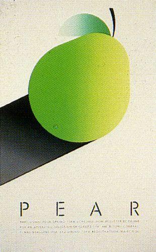 Fruit Series Registration Posters