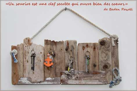Best 20 porte cl mural ideas on pinterest porte cl s mural porte cl s mu - Deco bricolage recup ...