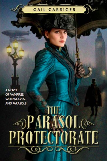 Gail Carriger's whole series of Victorian romance, comedy of manners and otherworldly creatures has become one of my favorites. Folks, this woman can write.