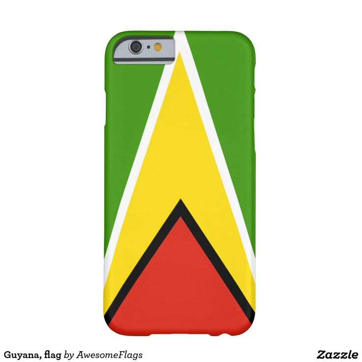 Guyana, flag barely there iPhone 6 case