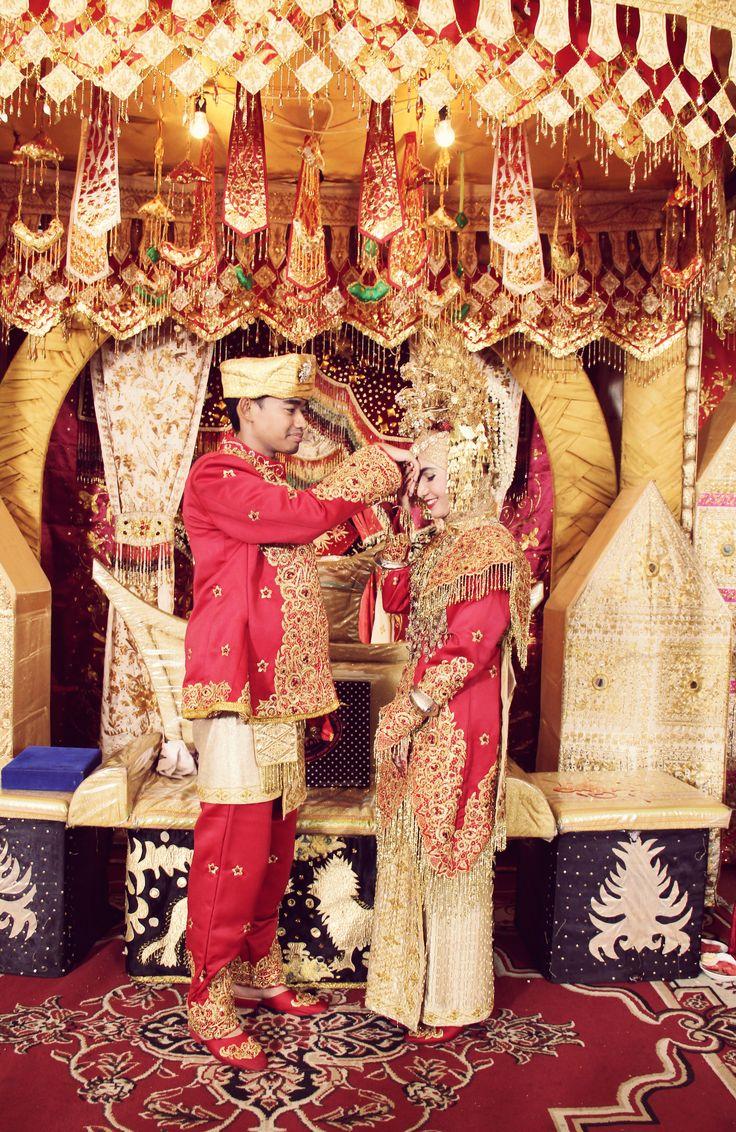 Minangkabau Wedding #moslem #reception #wedding