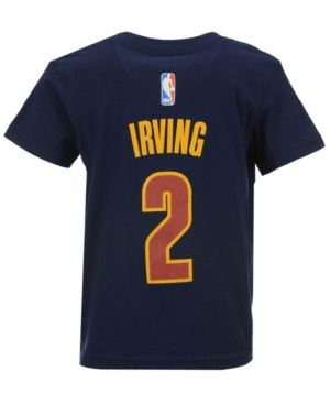 adidas Toddlers' Kyrie Irving Cleveland Cavaliers Name And Number T-Shirt - Blue 2T
